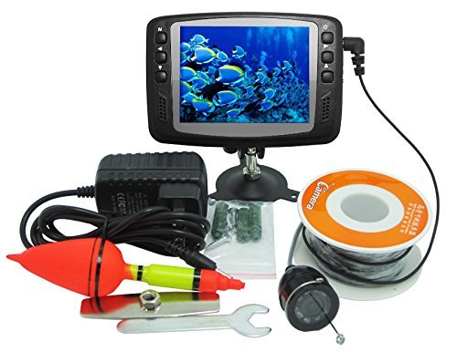 Magicfly Professional Fishfinder Underwater Fishing Video Camera 15m with 3.5 inch TFT color monitor
