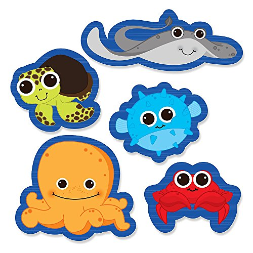 Under Sea Critters Birthday Cut Outs