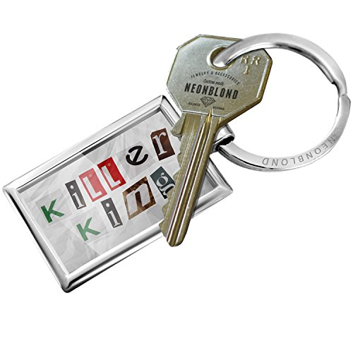 NEONBLOND Keychain Killer King Ransom Blackmail Letter