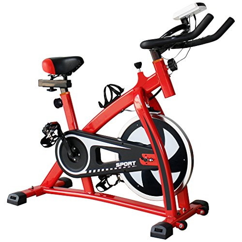 Homgrace Exercise Bike Indoor Cycle Bike, Indoor Bike Trainer