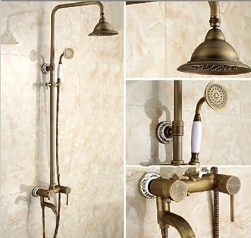 colonne de douche en laiton