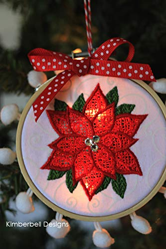 Kimberbell Machine Embroidery Cd Happy Hoop Decor Volume 1 Whimsical Christmas Ornaments