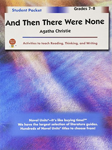 And Then There Were None - Student Packet by Novel Units