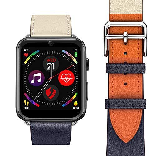 WQYRLJ 4G Smart Watch for Android 7.1 3G RAM 32G ROM 1.88 Inch Big Screen LTE Sim Camera GPS WIFI Heart Rate Wristband…