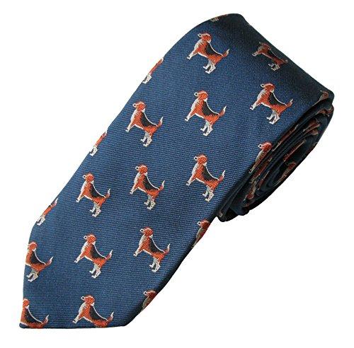 Beagle Tie (Men's Dog Breed Neck Tie)