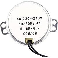 1Pcs AC220-240V 4W Motor Síncrono 50/60Hz CCW/CW Motor