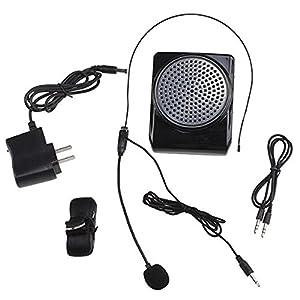 image loud portable voice amplifier loudspeaker microphone for teachers coaches. Black Bedroom Furniture Sets. Home Design Ideas