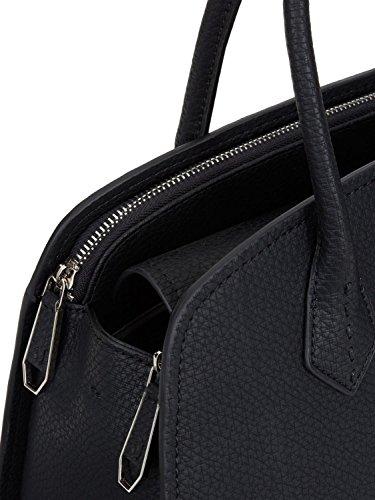 Borsa a mano Trussardi Jeans Dome Bag Suzanne Nero