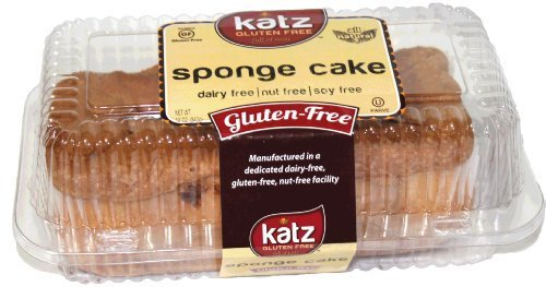 [Katz Gluten Free Sponge Cake, 12 Ounce, Certified Gluten Free - Kosher - Dairy, Soy, Nut free - (Pack of] (Milk Eggs Cheese Costume)
