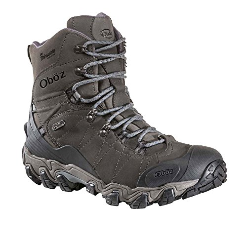 Oboz Mens Mens Boot Waterproof Dark Insulated Bridger Oboz Shadow 8 rrRvdw7q