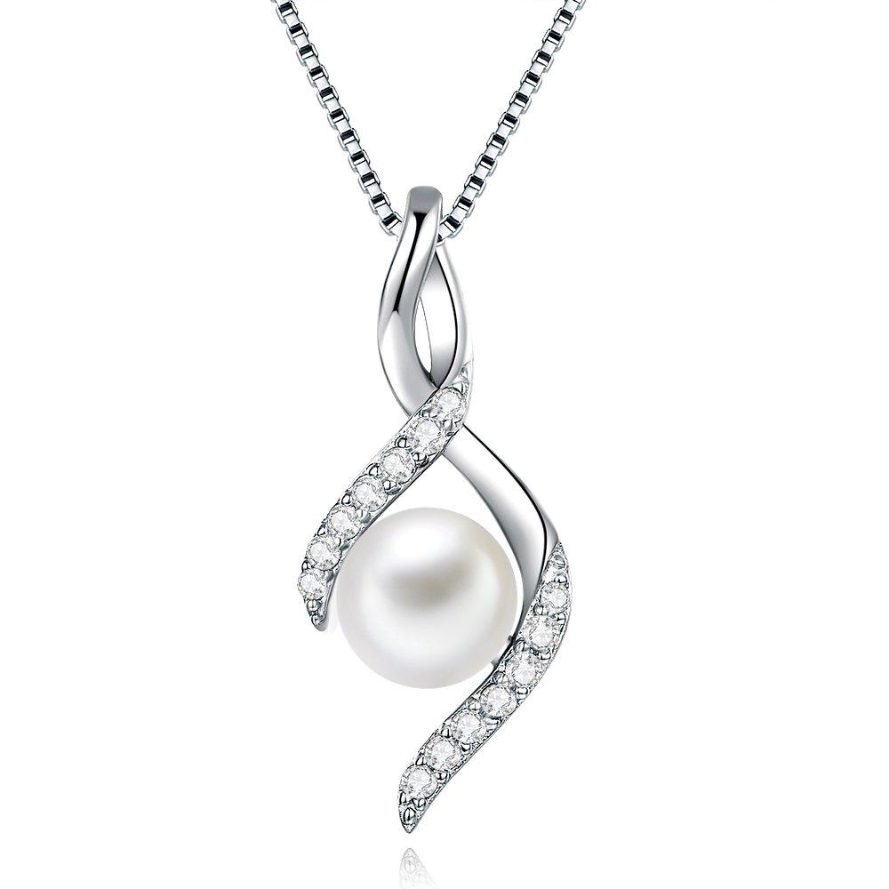 真円 本真珠パール ネックレス レディース シルバー925 真珠 ネックレス 誕生日 プレゼント 女性(ぜひ動画ご覧ください)