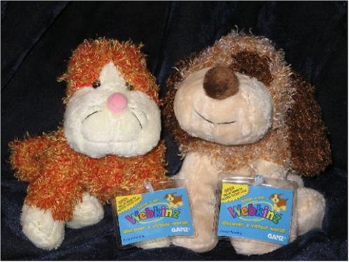 Cheeky Dog - Webkinz Cheeky Cat and Cheeky Dog