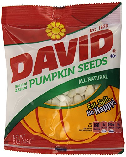 David Seeds Pumpkin Seeds, 5.0 Ounce (Pack of 12)