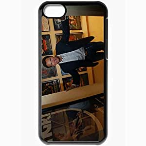 Personalized iPhone 5C Cell phone Case/Cover Skin Arnold Schwarzenegger Black