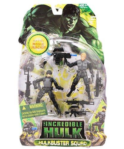 Incredible Hulk Movie Action Figure Hulk Buster 2-Pack