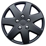 black 16 inch wheel covers - Drive Accessories 962 Matt Black 16
