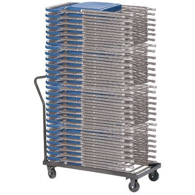 NPSDY700800 - Folding Truck Dolly,Supports 36 Chairs,18x40x39,DBN ()
