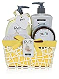 Pure! Rachelle Parker Luxury Spa Set- Lush Bath Gift Basket- all Natural!