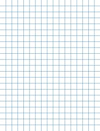 School Smart Chipboard Backed Graph Paper Pads with 1/2 in Rule - 8 1/2 x 11 inches - Dozen - White