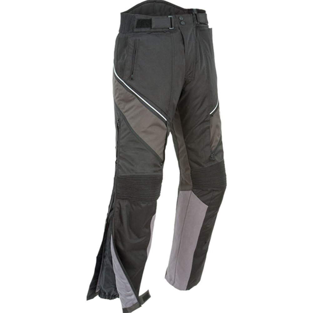 Joe Rocket Alter Ego 2.0 Men's Textile Sports Bike Racing Motorcycle Pants - Black / X-Large