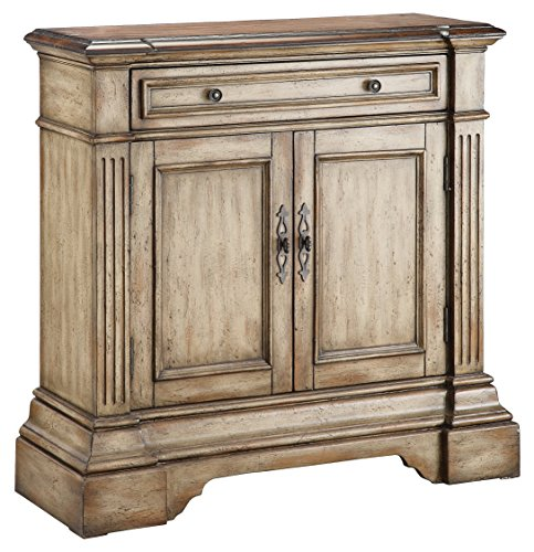 Stein World Furniture Gentry Accent Cabinet  Antique Dusty Linen