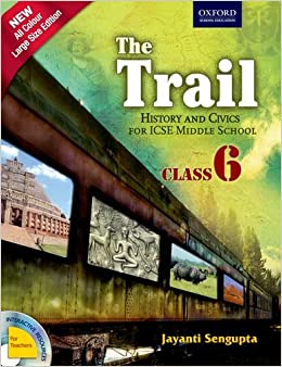 Buy The Trail Coursebook 6 History And Civics For Icse Middle
