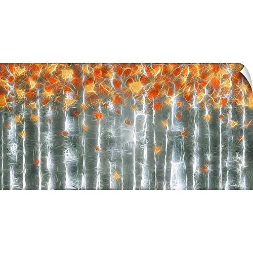 CANVAS ON DEMAND Mystique of Copper Wall Peel Art Print, ()