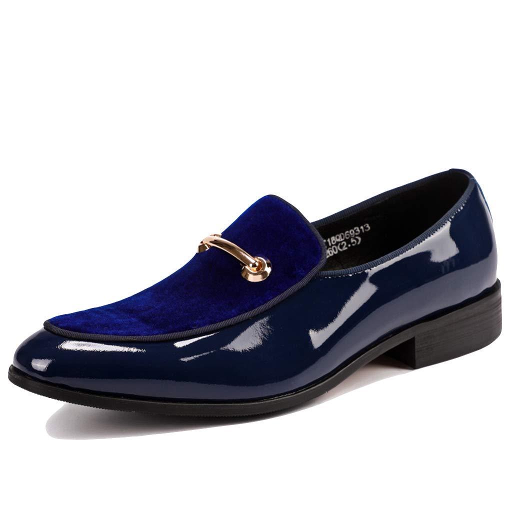 LIXIYU Zapatos Formales de Cuero para Hombres Zapatos Informales ...