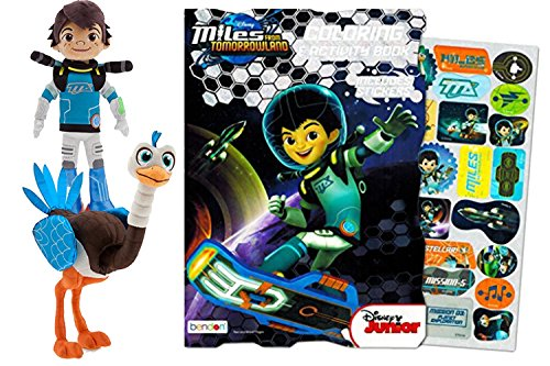 Disney Miles Plush Sc Mile 13 5 Mc Merc 20 Bundle With Miles From Tomorrowland Coloring And Activity Book With Stickers Bundle Of Three Buy Online In Grenada At Grenada Desertcart Com Productid 42263387