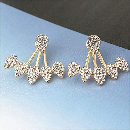 Pendientes de diamantes de Imitación de moda para mujeres coreano declaración pendientes piercing pequeños pendientes moda fiesta joyería