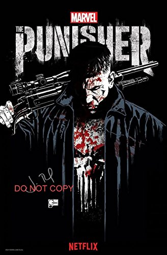 The Punisher Netflix Jon Bernthal reprint signed autographed 12x18 poster photo #2