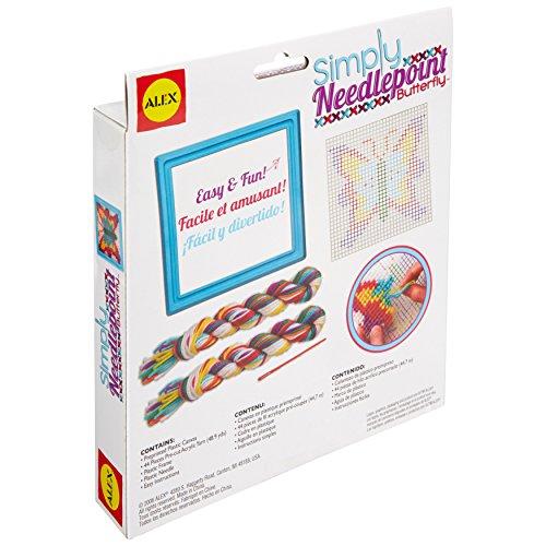 519ra%2B scwL - ALEX Toys Craft Simply Needlepoint - Butterfly