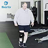 Nvorliy 6XL Plus Size Knee Compression Sleeves