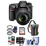 Nikon D7200 DX-Format DSLR Camera w/AF-S DX NIKKOR18-140mm f/3.5-5.6G ED VR Lens - Bundle w/16GB Class 10 SDHC Card, Camera Bag, Remote Shutter Trigger, Cleaning Kit, Memory Wallet, Software Package