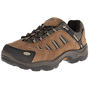 Hi-Tec Men's Bandera Low Waterproof Hiking Boot,Bone/Brown/Mustard,11.5 M US
