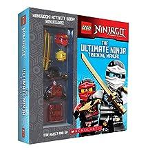 LEGO Ninjago box with handbook, activity book, and minifigure: The Ultimate Ninja Training Manual