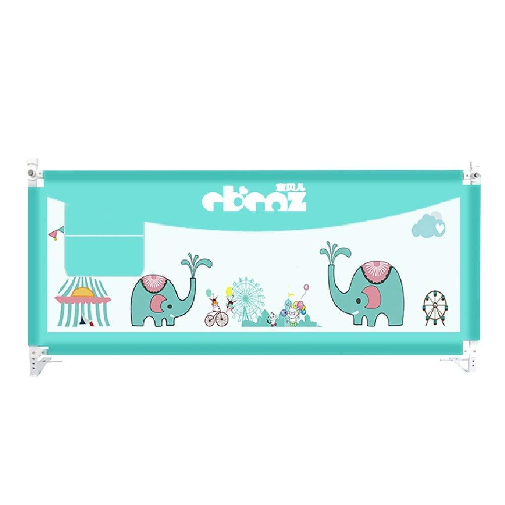 幼児のための余分な背の高いベッドレール、キングサイズベッドのための子供のための折り畳み式ベビーベッドガード、ブルー、88Cmの高さ,180cm/70.86inchs  180cm/70.86inchs B07TXGWTGT