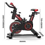 AABBC-Cyclette-per-casa-Ciclismo-Indoor-Spin-Bike-Studio-Cycles-Macchine-per-Esercizi-Manubrio-e-Sedile-Regolabili-Il-Computer-di-Bordo-Legge-velocita-Distanza-Tempo-Calorie