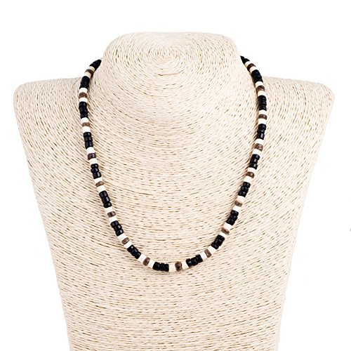 black-and-bleach-brown-coco-wood-necklace
