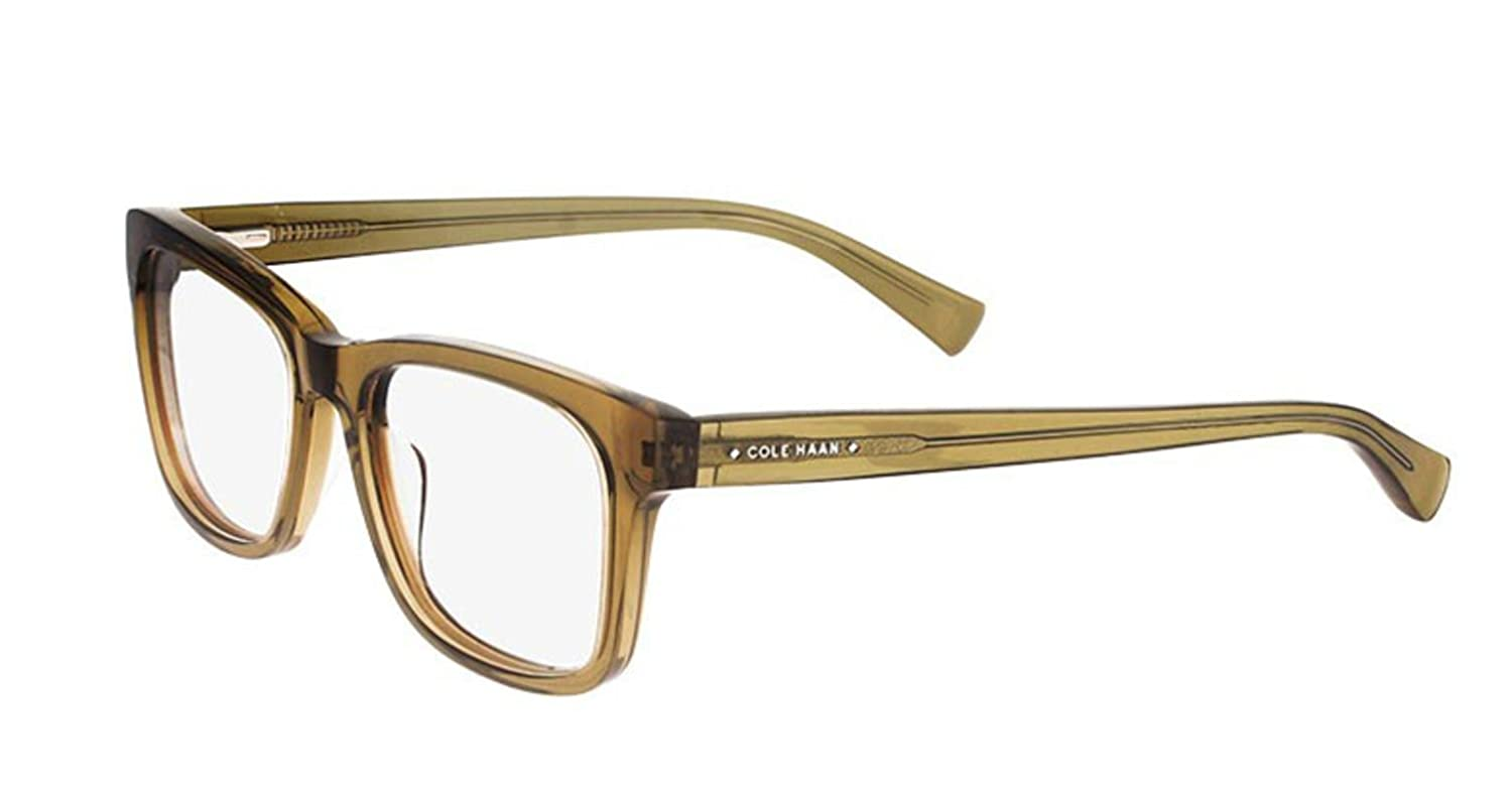 Eyeglasses Cole Haan CH4008 CH 4008 Crystal Olive at Amazon Men\'s ...