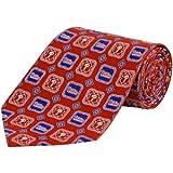 MLB Philadelphia Phillies Medallion Silk Tie - Red