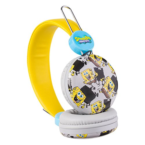 Over the Ear Kids Safe Headphones (Spongebob)