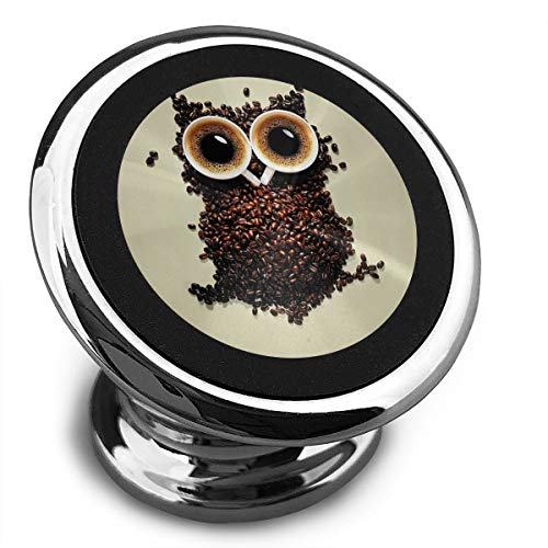 Magnetic Car Phone Owl Cat Mobile Bracket 360 Degree Rotation from Dashboard
