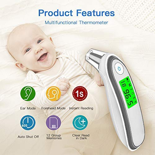 Buy digital forehead thermometer fda approved