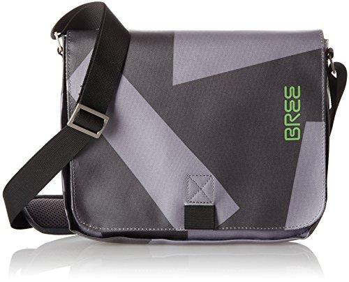 Bree Punch S17 - Bolso de Hombro Hombre Grau (Black/Grey)_61