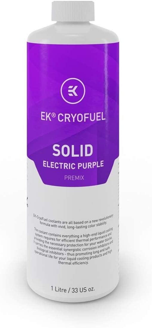 EKWB EK-CryoFuel Solid Premix Coolant, 1000mL, Electric Purple