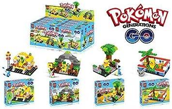 Ingenious Toys Pokémon Go - Pikachu Colección 4 Caja Juegos ...