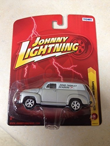 1950 Chevy Panel - Johnny Lightning 1950 chevy panel delivery doug thorley headers new in package rare item