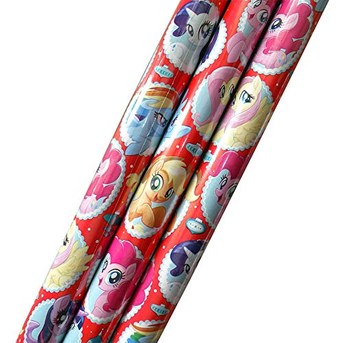My Little Pony Holiday Gift Wrap 70 Square -