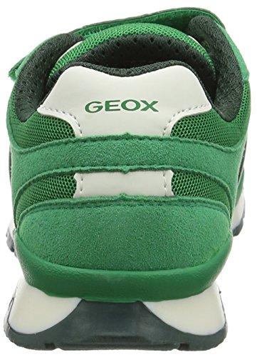 Geox J PAVEL A - zapatilla deportiva de material sintético niño Verde (Greenc3000)